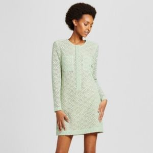 NWT Victoria Beckham Long Sleeve Lace Dress